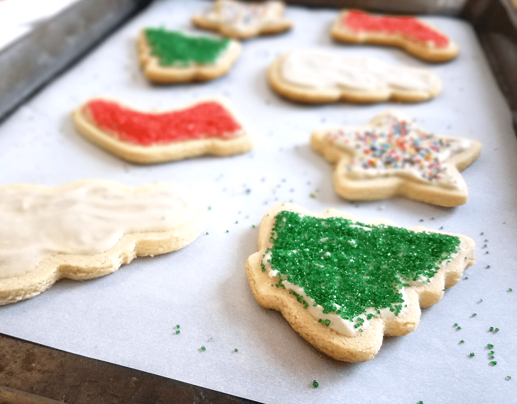Healthy Christmas Cookies With Sugar Free Icing Taste Abounds