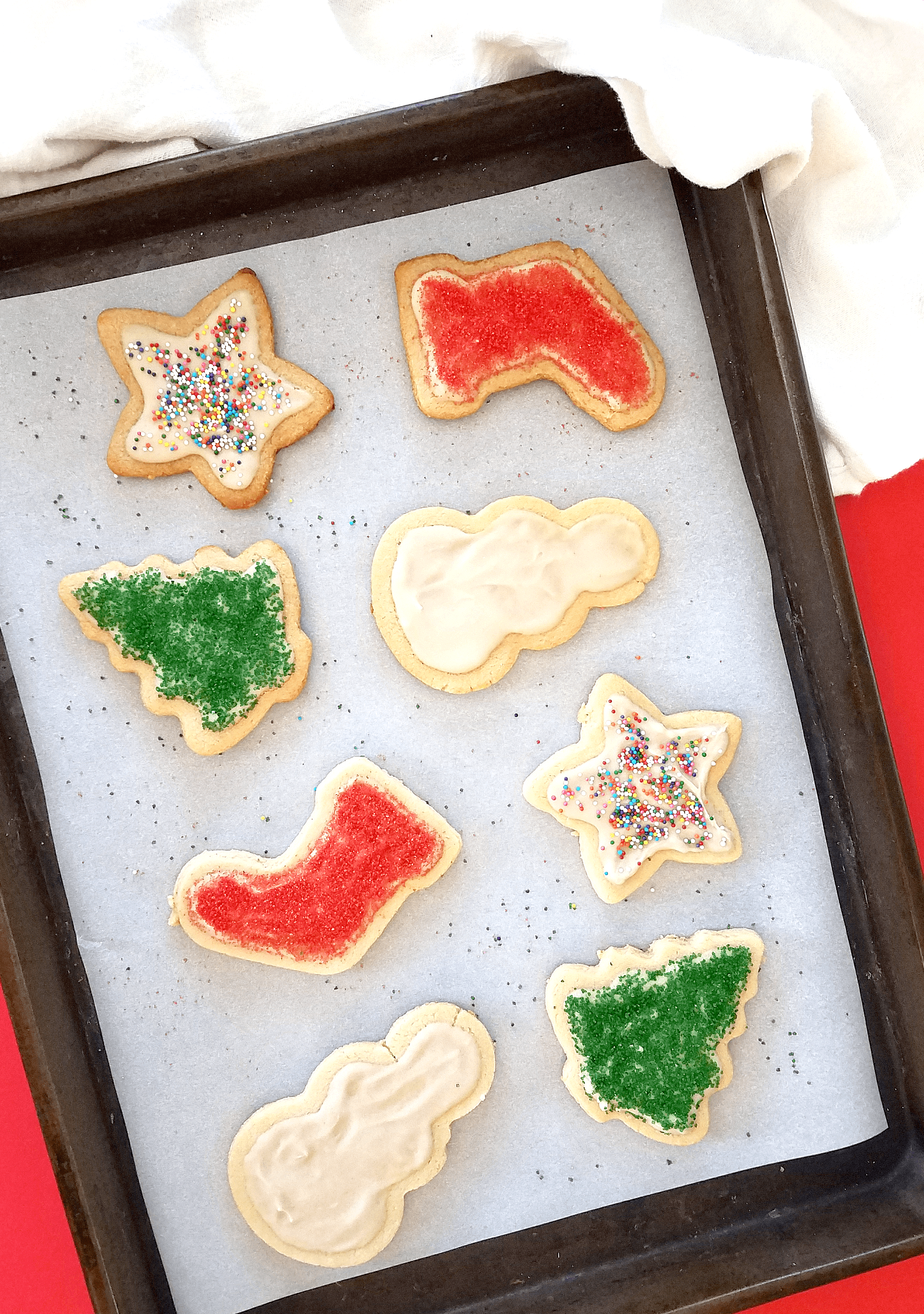 Healthy Christmas Cookies with Sugar Free Icing | Taste Abounds