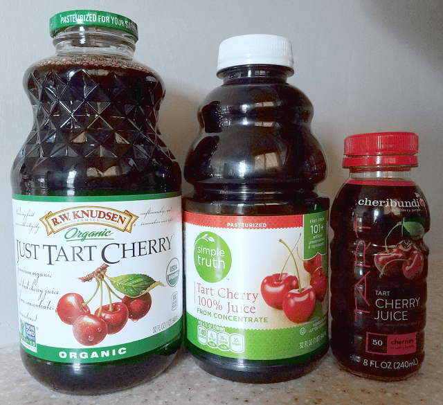 The 3 best and most affordable tart cherry juices for making a Tart Cherry Bourbon Cocktail: R.W. Knudsen Just Tart Cherry, Simple Truth Tart Cherry 100% Juice, and Cheribundi Tart Cherry Juice