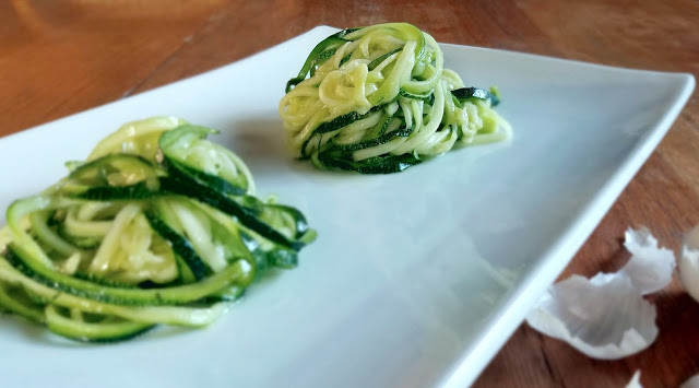 Easy Zucchini Pasta Two Ways + Spiralizer Comparison by Taste Abounds