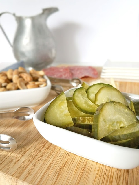 This recipe for Lacto-Fermented Dill Pickles is so easy that it only requires three ingredients and five minutes to prepare! Once fermented, these Lacto Fermented Dill Pickles are so flavorful, crunchy and full of probiotics that they can and should be used everywhere you use store bought pickles, like as snacks and on sandwiches and charcuterie plates. They're better for your body and wallet!