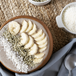 Start your day with a serving of vegetables so delicious you won't believe it! This quick and easy Paleo breakfast porridge is hiding cauliflower rice along with other nutritious ingredients, but it tastes great! Easy, Paleo, Whole30 and allergy-friendly, this Paleo breakfast porridge is a great substitute for oatmeal and other traditional grain-filled breakfast options.
